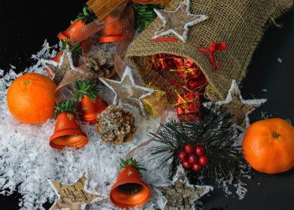 Remise des colis de Noël
