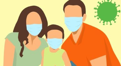 Distribution de masques à la population