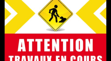 ATTENTION TRAVAUX RUES DE LA HAUTE ET DE LA BASSE MARATRE A SAINT-PIERRE D'AUTILS