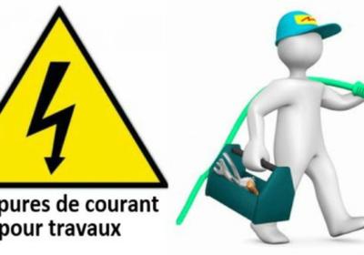COUPURE ELECTRIQUE – ROUTE DEPARTEMENATLE 6015 – LE 26 NOVEMBRE DE 9H A 13H
